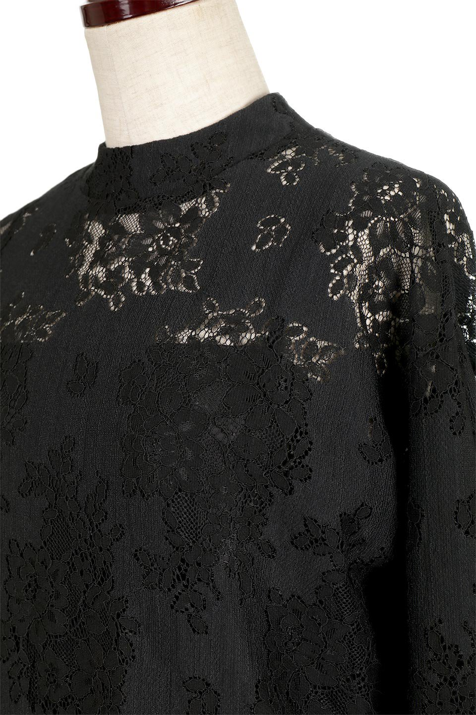 TuckSleevelaceblouseタックスリーブ・総レースブラウス大人カジュアルに最適な海外ファッションのothers(その他インポートアイテム)のトップスやシャツ・ブラウス。繊細なデザインで上品さたっぷりのレースブラウス。華奢な花柄レースのシースルーブラウスは360°どこから見ても美しい仕上がりです。/main-11