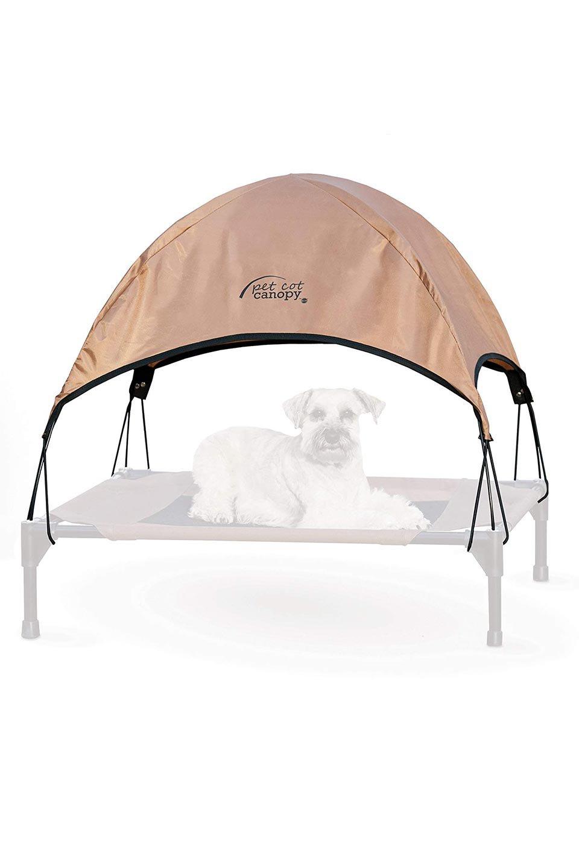 K&HPetProductsのK&HPetCotCanopyK&H社製ペットベッド専用テント(タン)大人カジュアルに最適な海外ファッションのothers(その他インポートアイテム)のドッググッズや。K&H社製のペットベッド専用のテント。上のテント部分のみの販売になります。/main-2