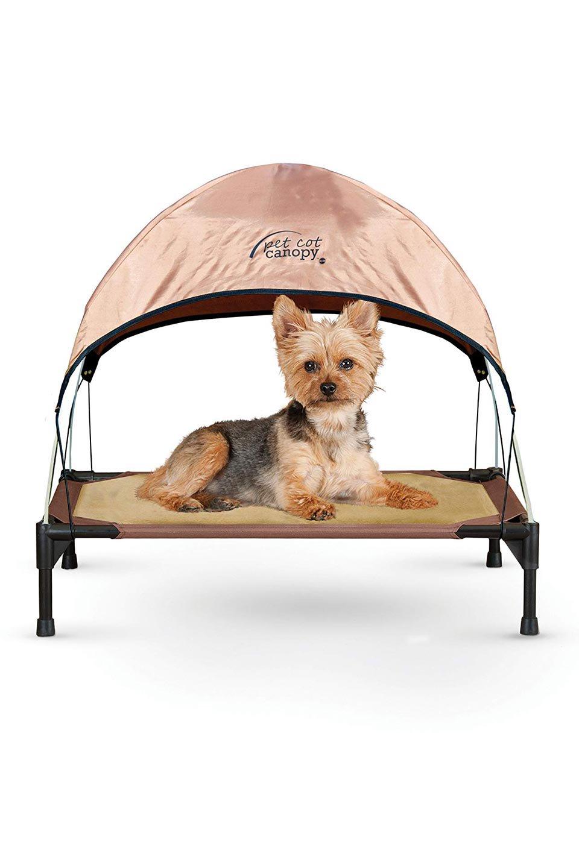 K&HPetProductsのK&HPetCotCanopyK&H社製ペットベッド専用テント(タン)大人カジュアルに最適な海外ファッションのothers(その他インポートアイテム)のドッググッズや。K&H社製のペットベッド専用のテント。上のテント部分のみの販売になります。/main-3
