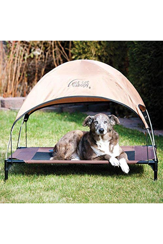 K&HPetProductsのK&HPetCotCanopyK&H社製ペットベッド専用テント(タン)大人カジュアルに最適な海外ファッションのothers(その他インポートアイテム)のドッググッズや。K&H社製のペットベッド専用のテント。上のテント部分のみの販売になります。/main-4