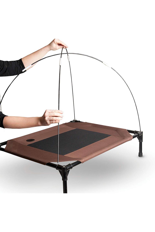 K&HPetProductsのK&HPetCotCanopyK&H社製ペットベッド専用テント(タン)大人カジュアルに最適な海外ファッションのothers(その他インポートアイテム)のドッググッズや。K&H社製のペットベッド専用のテント。上のテント部分のみの販売になります。/main-8