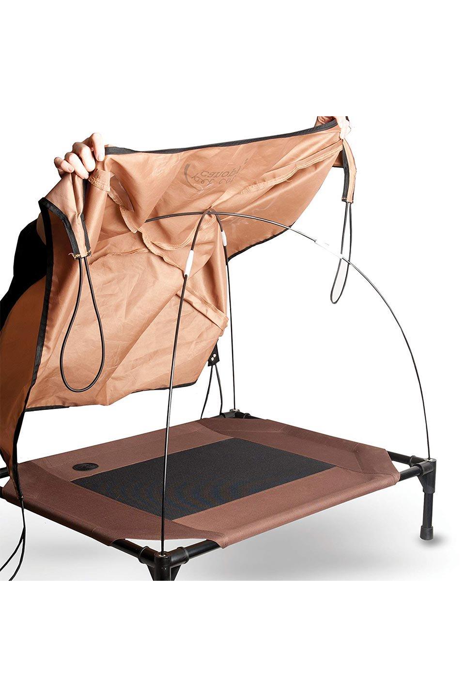 K&HPetProductsのK&HPetCotCanopyK&H社製ペットベッド専用テント(タン)大人カジュアルに最適な海外ファッションのothers(その他インポートアイテム)のドッググッズや。K&H社製のペットベッド専用のテント。上のテント部分のみの販売になります。/main-9