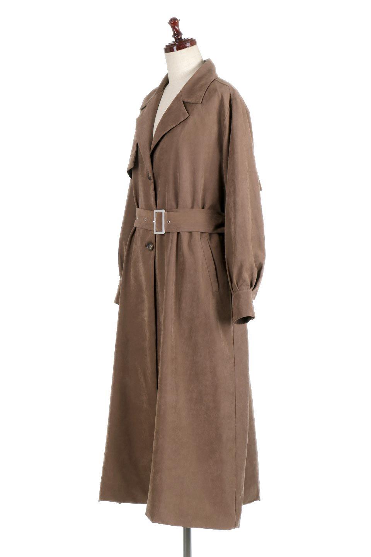 BackFlareLongCoatバックフレア・ロングコート大人カジュアルに最適な海外ファッションのothers(その他インポートアイテム)のアウターやコート。羽織るだけで決まる、トレンチライクなロングコート。羽織るだけで様になり、どんな身長にもマッチする絶妙な丈感。/main-1