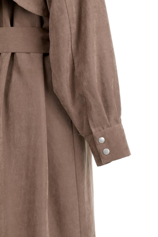 BackFlareLongCoatバックフレア・ロングコート大人カジュアルに最適な海外ファッションのothers(その他インポートアイテム)のアウターやコート。羽織るだけで決まる、トレンチライクなロングコート。羽織るだけで様になり、どんな身長にもマッチする絶妙な丈感。/main-10