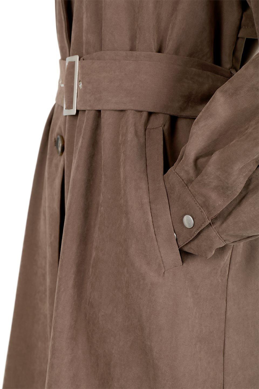 BackFlareLongCoatバックフレア・ロングコート大人カジュアルに最適な海外ファッションのothers(その他インポートアイテム)のアウターやコート。羽織るだけで決まる、トレンチライクなロングコート。羽織るだけで様になり、どんな身長にもマッチする絶妙な丈感。/main-11