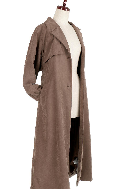 BackFlareLongCoatバックフレア・ロングコート大人カジュアルに最適な海外ファッションのothers(その他インポートアイテム)のアウターやコート。羽織るだけで決まる、トレンチライクなロングコート。羽織るだけで様になり、どんな身長にもマッチする絶妙な丈感。/main-14