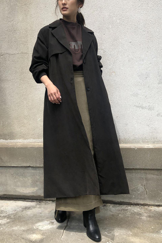 BackFlareLongCoatバックフレア・ロングコート大人カジュアルに最適な海外ファッションのothers(その他インポートアイテム)のアウターやコート。羽織るだけで決まる、トレンチライクなロングコート。羽織るだけで様になり、どんな身長にもマッチする絶妙な丈感。/main-19
