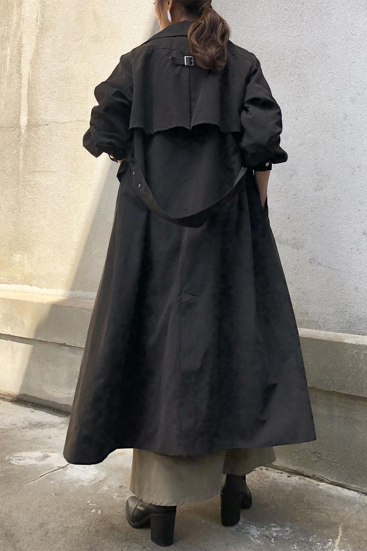 BackFlareLongCoatバックフレア・ロングコート大人カジュアルに最適な海外ファッションのothers(その他インポートアイテム)のアウターやコート。羽織るだけで決まる、トレンチライクなロングコート。羽織るだけで様になり、どんな身長にもマッチする絶妙な丈感。/main-20