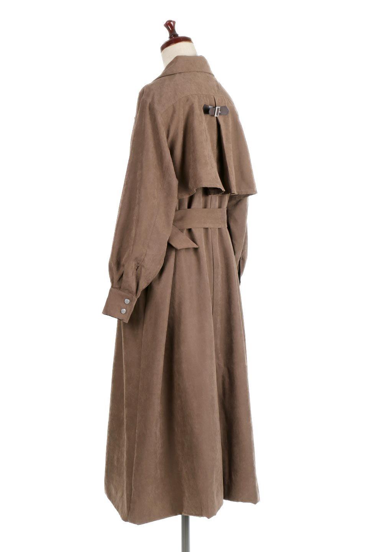 BackFlareLongCoatバックフレア・ロングコート大人カジュアルに最適な海外ファッションのothers(その他インポートアイテム)のアウターやコート。羽織るだけで決まる、トレンチライクなロングコート。羽織るだけで様になり、どんな身長にもマッチする絶妙な丈感。/main-3