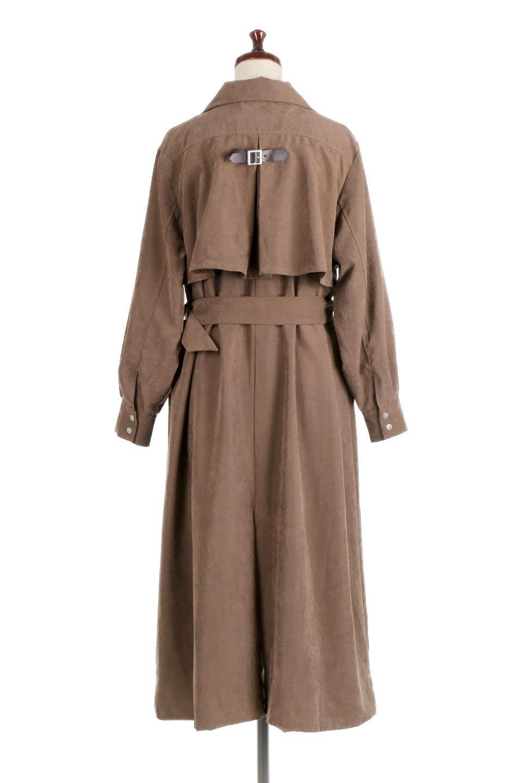 BackFlareLongCoatバックフレア・ロングコート大人カジュアルに最適な海外ファッションのothers(その他インポートアイテム)のアウターやコート。羽織るだけで決まる、トレンチライクなロングコート。羽織るだけで様になり、どんな身長にもマッチする絶妙な丈感。/main-4