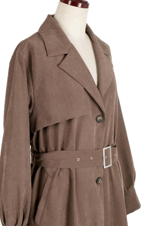 BackFlareLongCoatバックフレア・ロングコート大人カジュアルに最適な海外ファッションのothers(その他インポートアイテム)のアウターやコート。羽織るだけで決まる、トレンチライクなロングコート。羽織るだけで様になり、どんな身長にもマッチする絶妙な丈感。/main-5