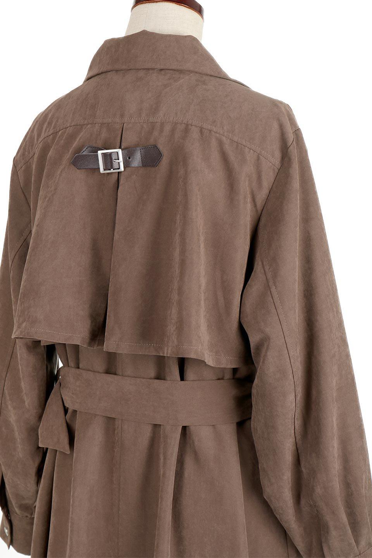 BackFlareLongCoatバックフレア・ロングコート大人カジュアルに最適な海外ファッションのothers(その他インポートアイテム)のアウターやコート。羽織るだけで決まる、トレンチライクなロングコート。羽織るだけで様になり、どんな身長にもマッチする絶妙な丈感。/main-6