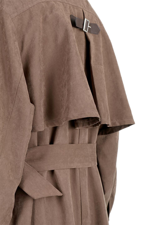 BackFlareLongCoatバックフレア・ロングコート大人カジュアルに最適な海外ファッションのothers(その他インポートアイテム)のアウターやコート。羽織るだけで決まる、トレンチライクなロングコート。羽織るだけで様になり、どんな身長にもマッチする絶妙な丈感。/main-8