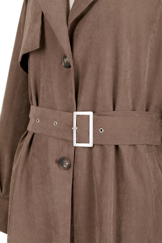 BackFlareLongCoatバックフレア・ロングコート大人カジュアルに最適な海外ファッションのothers(その他インポートアイテム)のアウターやコート。羽織るだけで決まる、トレンチライクなロングコート。羽織るだけで様になり、どんな身長にもマッチする絶妙な丈感。/main-9