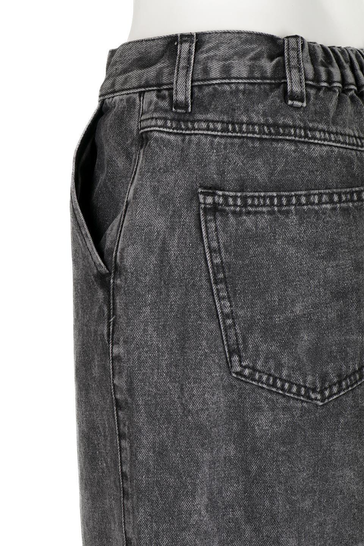 StraightWideLegDenimPantsストレートデニム・ワイドパンツ大人カジュアルに最適な海外ファッションのothers(その他インポートアイテム)のボトムやパンツ。きれいなラインが出る油デニム素材のワイドパンツ。カジュアルなデニムのワイドパンツですが、シックなブラック系で大人っぽいコーデを楽しめます。/main-12
