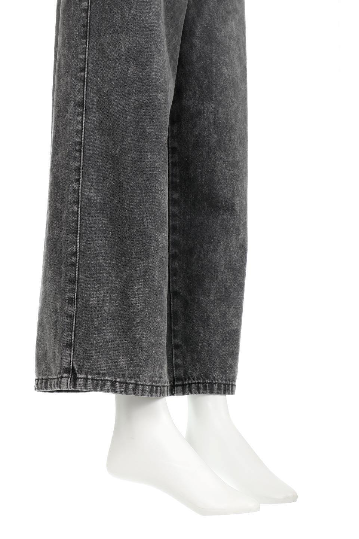 StraightWideLegDenimPantsストレートデニム・ワイドパンツ大人カジュアルに最適な海外ファッションのothers(その他インポートアイテム)のボトムやパンツ。きれいなラインが出る油デニム素材のワイドパンツ。カジュアルなデニムのワイドパンツですが、シックなブラック系で大人っぽいコーデを楽しめます。/main-14