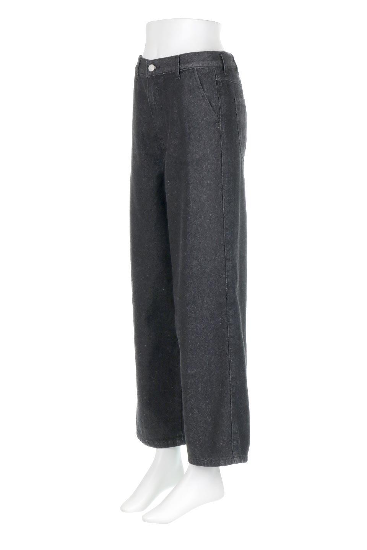 StraightWideLegDenimPantsストレートデニム・ワイドパンツ大人カジュアルに最適な海外ファッションのothers(その他インポートアイテム)のボトムやパンツ。きれいなラインが出る油デニム素材のワイドパンツ。カジュアルなデニムのワイドパンツですが、シックなブラック系で大人っぽいコーデを楽しめます。/main-6