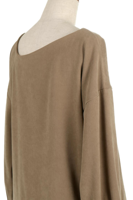 AsymmetricalV-NeckBlouseアシメントリー・Vネックブラウス大人カジュアルに最適な海外ファッションのothers(その他インポートアイテム)のアウターやジャケット。左右非対称のアシメントリーデザインが可愛い長袖ブラウス。温かみのある起毛されたヌバック風素材が季節感を演出。/main-22