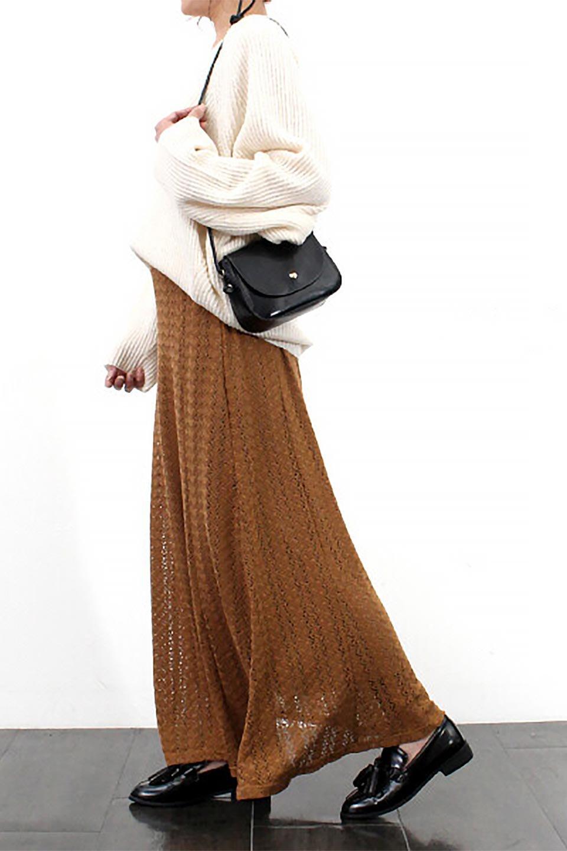 TextureWeaveMermaidSkirt模様編み・マーメイドスカート大人カジュアルに最適な海外ファッションのothers(その他インポートアイテム)のボトムやスカート。上品な模様編みを施したマキシ丈のマーメイドスカート。モデルの写真の通り超脚長効果が期待できる美脚スカートです。/main-27