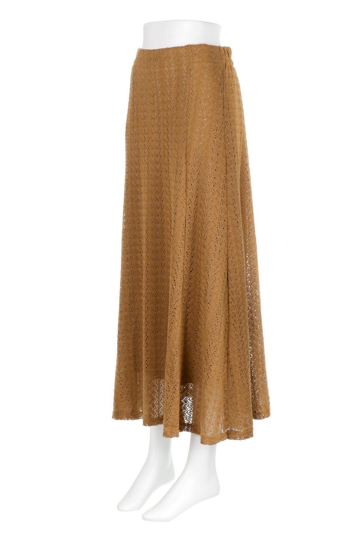 TextureWeaveMermaidSkirt模様編み・マーメイドスカート大人カジュアルに最適な海外ファッションのothers(その他インポートアイテム)のボトムやスカート。上品な模様編みを施したマキシ丈のマーメイドスカート。モデルの写真の通り超脚長効果が期待できる美脚スカートです。/main-6