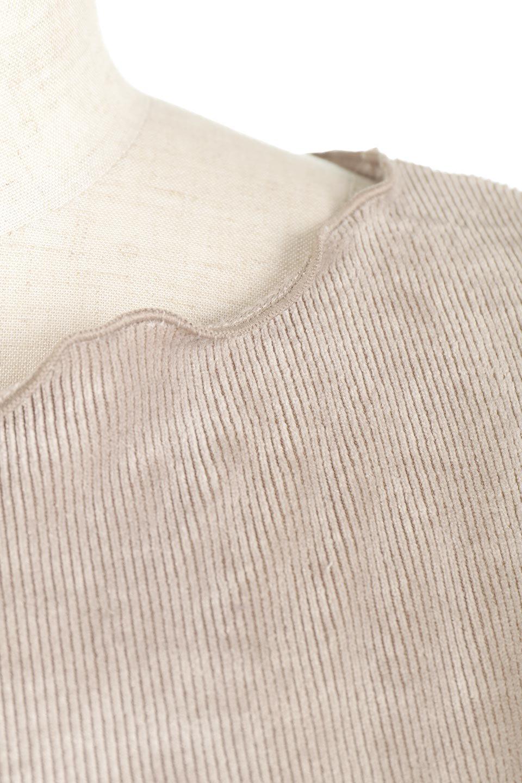 VelourCorduroyBoatNeckTopベロアコーデュロイ・ボートネックトップス大人カジュアルに最適な海外ファッションのothers(その他インポートアイテム)のトップスやカットソー。上品な光沢感が自慢のベロア個ーづロイを使用したトップス。凹凸感のあるストレッチ素材なので、細身の袖でも窮屈感はありません。/main-22