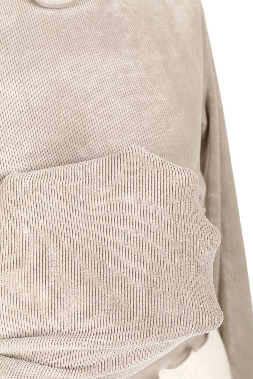 VelourCorduroyBoatNeckTopベロアコーデュロイ・ボートネックトップス大人カジュアルに最適な海外ファッションのothers(その他インポートアイテム)のトップスやカットソー。上品な光沢感が自慢のベロア個ーづロイを使用したトップス。凹凸感のあるストレッチ素材なので、細身の袖でも窮屈感はありません。/main-29