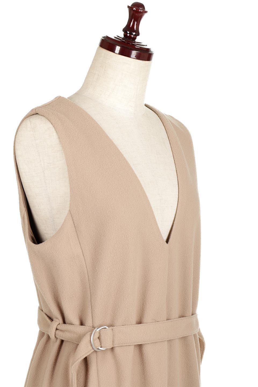 DeepVNeckFleeceLongDressVネック・フリースワンピース大人カジュアルに最適な海外ファッションのothers(その他インポートアイテム)のワンピースやマキシワンピース。肌触りの良いフリース風の素材を用いたVネックワンピース。表面は若干起毛され温かみのある風合い。/main-10