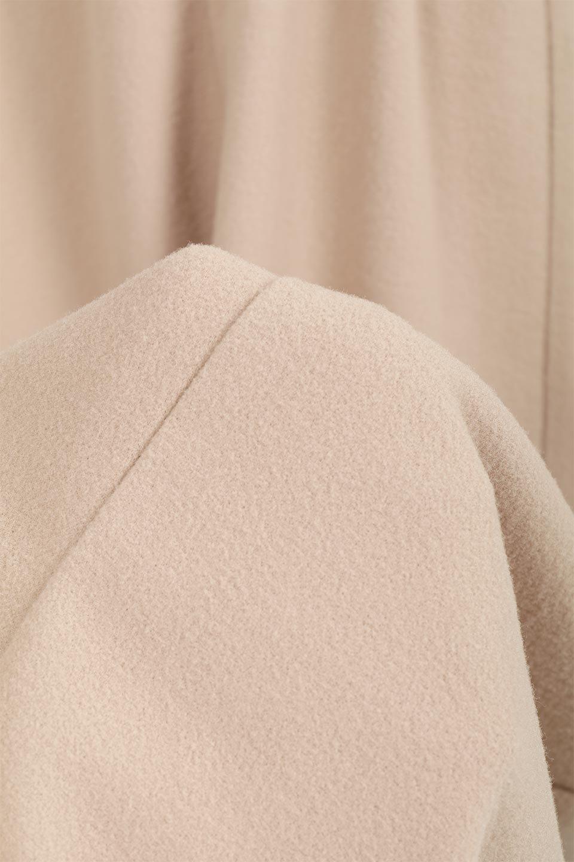 DeepVNeckFleeceLongDressVネック・フリースワンピース大人カジュアルに最適な海外ファッションのothers(その他インポートアイテム)のワンピースやマキシワンピース。肌触りの良いフリース風の素材を用いたVネックワンピース。表面は若干起毛され温かみのある風合い。/main-16