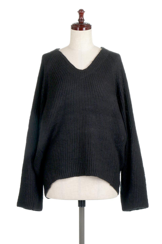 DolmanSleeveVNeckKnitTopドルマンスリーブ・モヘア風ニット大人カジュアルに最適な海外ファッションのothers(その他インポートアイテム)のトップスやニット・セーター。何枚でも欲しくなるドルマンスリーブのゆったりニット。スカートでもパンツでもオールマイティーにコーデが楽しめる便利トップスです。/main-15