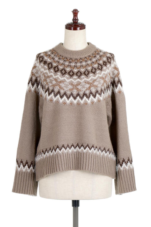 AcrylicMohairNordicSweaterアクリルモヘア・ノルディックセーター大人カジュアルに最適な海外ファッションのothers(その他インポートアイテム)のトップスやニット・セーター。毎年根強い人気のノルディックセーター。首周りをぐるりと囲むノルディック柄が可愛いセーターです。/main-10