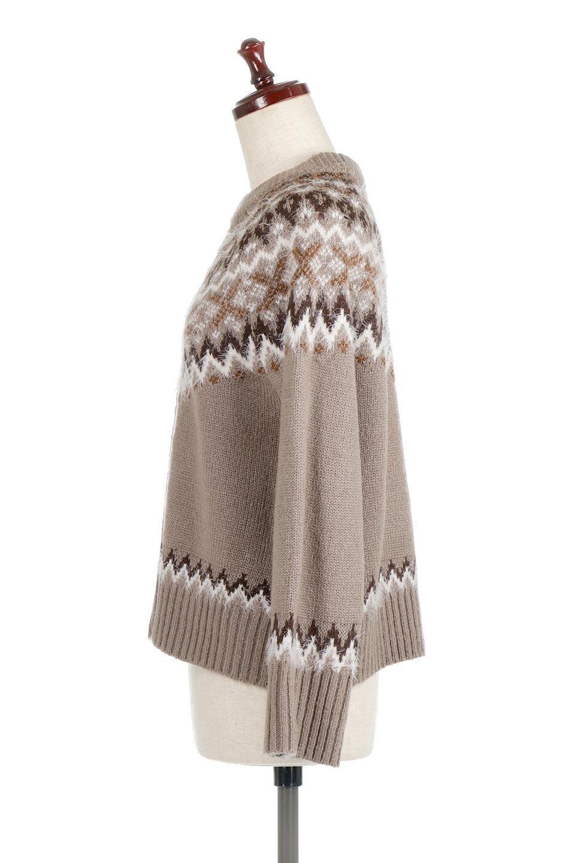 AcrylicMohairNordicSweaterアクリルモヘア・ノルディックセーター大人カジュアルに最適な海外ファッションのothers(その他インポートアイテム)のトップスやニット・セーター。毎年根強い人気のノルディックセーター。首周りをぐるりと囲むノルディック柄が可愛いセーターです。/main-12
