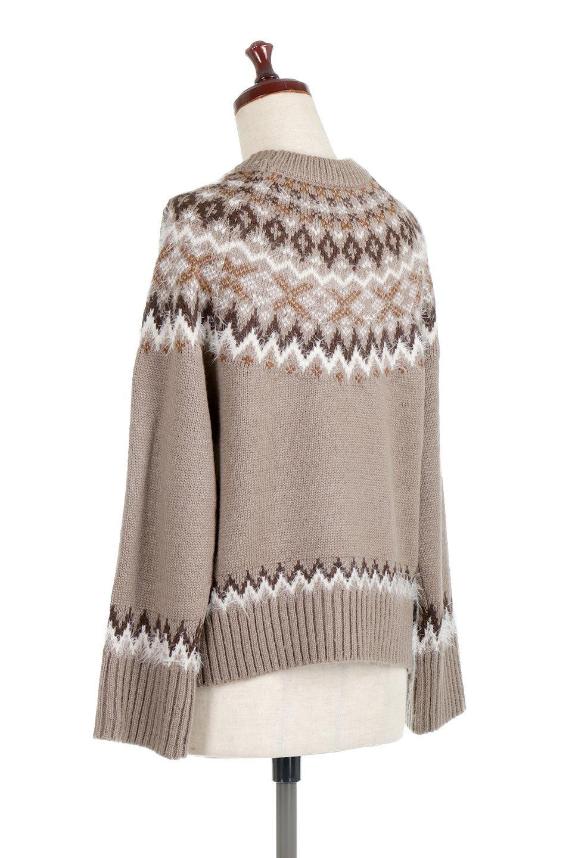 AcrylicMohairNordicSweaterアクリルモヘア・ノルディックセーター大人カジュアルに最適な海外ファッションのothers(その他インポートアイテム)のトップスやニット・セーター。毎年根強い人気のノルディックセーター。首周りをぐるりと囲むノルディック柄が可愛いセーターです。/main-13