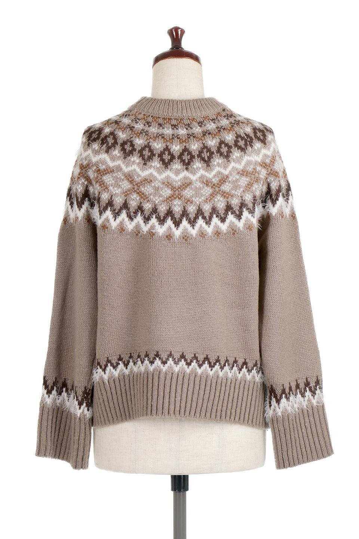 AcrylicMohairNordicSweaterアクリルモヘア・ノルディックセーター大人カジュアルに最適な海外ファッションのothers(その他インポートアイテム)のトップスやニット・セーター。毎年根強い人気のノルディックセーター。首周りをぐるりと囲むノルディック柄が可愛いセーターです。/main-14