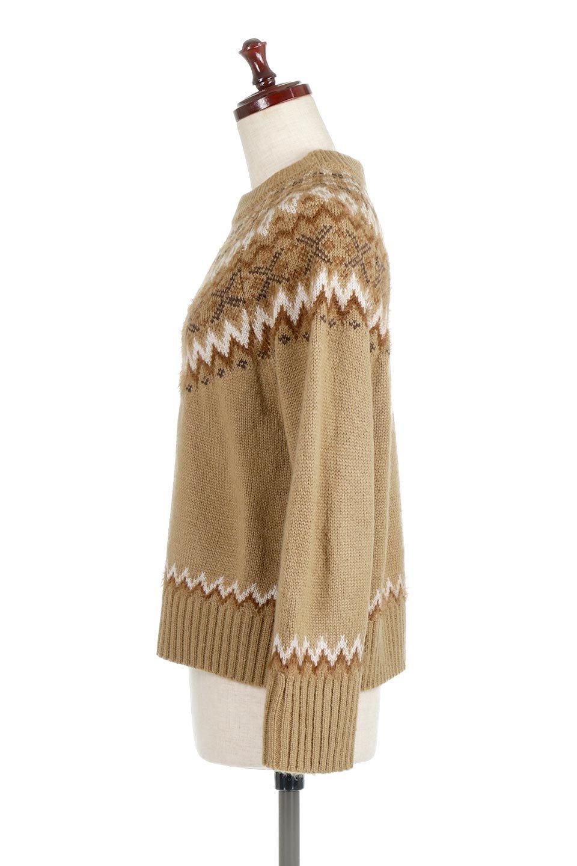 AcrylicMohairNordicSweaterアクリルモヘア・ノルディックセーター大人カジュアルに最適な海外ファッションのothers(その他インポートアイテム)のトップスやニット・セーター。毎年根強い人気のノルディックセーター。首周りをぐるりと囲むノルディック柄が可愛いセーターです。/main-17