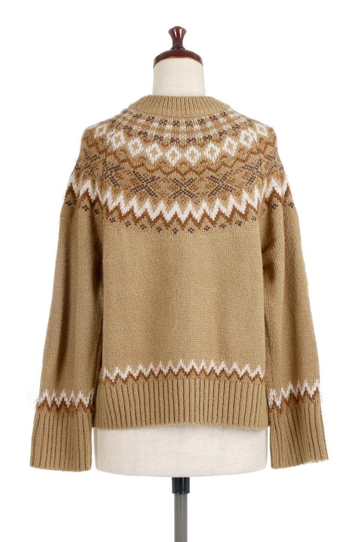 AcrylicMohairNordicSweaterアクリルモヘア・ノルディックセーター大人カジュアルに最適な海外ファッションのothers(その他インポートアイテム)のトップスやニット・セーター。毎年根強い人気のノルディックセーター。首周りをぐるりと囲むノルディック柄が可愛いセーターです。/main-19