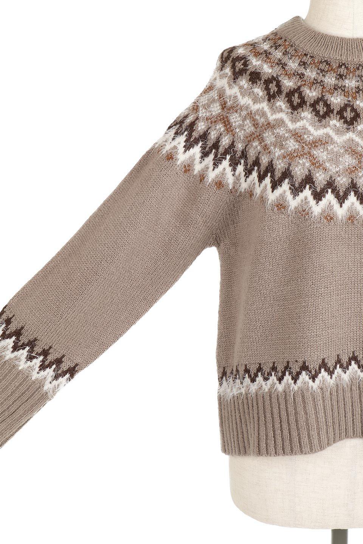 AcrylicMohairNordicSweaterアクリルモヘア・ノルディックセーター大人カジュアルに最適な海外ファッションのothers(その他インポートアイテム)のトップスやニット・セーター。毎年根強い人気のノルディックセーター。首周りをぐるりと囲むノルディック柄が可愛いセーターです。/main-24