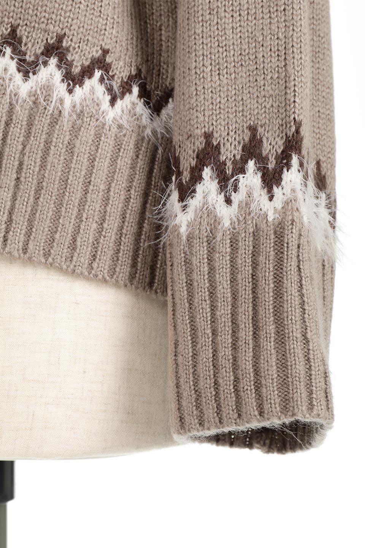 AcrylicMohairNordicSweaterアクリルモヘア・ノルディックセーター大人カジュアルに最適な海外ファッションのothers(その他インポートアイテム)のトップスやニット・セーター。毎年根強い人気のノルディックセーター。首周りをぐるりと囲むノルディック柄が可愛いセーターです。/main-25