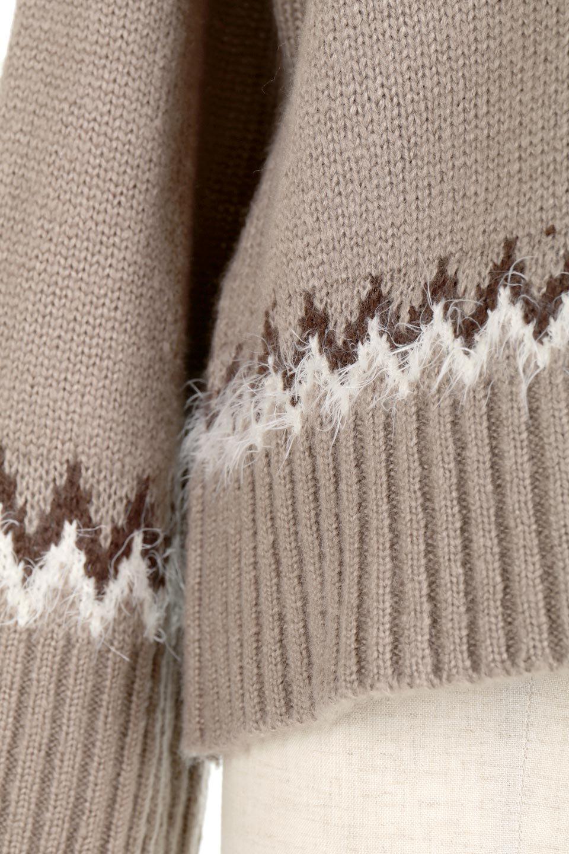 AcrylicMohairNordicSweaterアクリルモヘア・ノルディックセーター大人カジュアルに最適な海外ファッションのothers(その他インポートアイテム)のトップスやニット・セーター。毎年根強い人気のノルディックセーター。首周りをぐるりと囲むノルディック柄が可愛いセーターです。/main-26