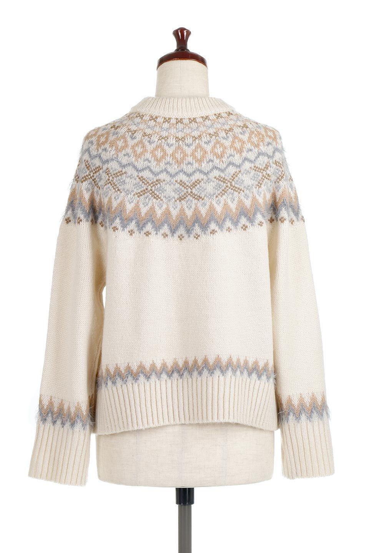 AcrylicMohairNordicSweaterアクリルモヘア・ノルディックセーター大人カジュアルに最適な海外ファッションのothers(その他インポートアイテム)のトップスやニット・セーター。毎年根強い人気のノルディックセーター。首周りをぐるりと囲むノルディック柄が可愛いセーターです。/main-9
