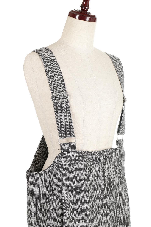 HerringboneJumperDressヘリンボーン・ジャンパースカート大人カジュアルに最適な海外ファッションのothers(その他インポートアイテム)のワンピースやマキシワンピース。季節感の有るヘリンボーン生地を用いたジャンパースカート。トラディショナルな雰囲気で流行り廃りのないアイテムです。/main-10