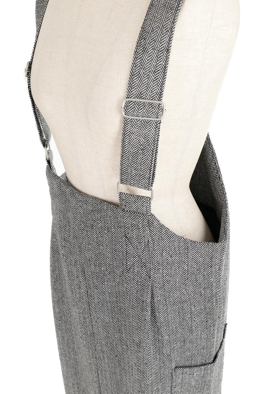 HerringboneJumperDressヘリンボーン・ジャンパースカート大人カジュアルに最適な海外ファッションのothers(その他インポートアイテム)のワンピースやマキシワンピース。季節感の有るヘリンボーン生地を用いたジャンパースカート。トラディショナルな雰囲気で流行り廃りのないアイテムです。/main-13