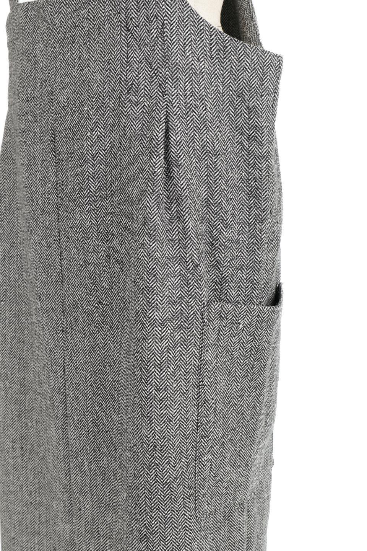 HerringboneJumperDressヘリンボーン・ジャンパースカート大人カジュアルに最適な海外ファッションのothers(その他インポートアイテム)のワンピースやマキシワンピース。季節感の有るヘリンボーン生地を用いたジャンパースカート。トラディショナルな雰囲気で流行り廃りのないアイテムです。/main-15