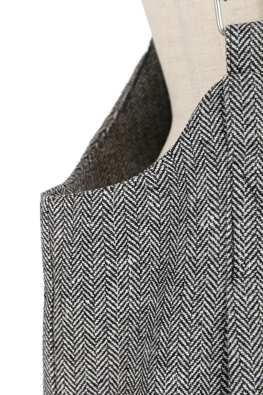 HerringboneJumperDressヘリンボーン・ジャンパースカート大人カジュアルに最適な海外ファッションのothers(その他インポートアイテム)のワンピースやマキシワンピース。季節感の有るヘリンボーン生地を用いたジャンパースカート。トラディショナルな雰囲気で流行り廃りのないアイテムです。/main-16