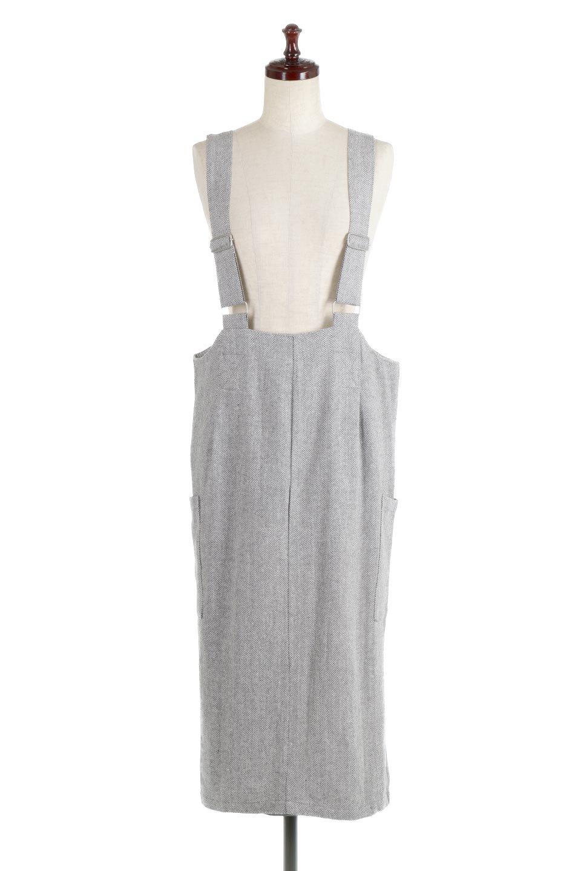 HerringboneJumperDressヘリンボーン・ジャンパースカート大人カジュアルに最適な海外ファッションのothers(その他インポートアイテム)のワンピースやマキシワンピース。季節感の有るヘリンボーン生地を用いたジャンパースカート。トラディショナルな雰囲気で流行り廃りのないアイテムです。/main-5