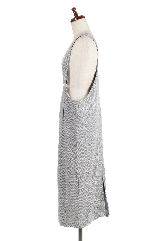 HerringboneJumperDressヘリンボーン・ジャンパースカート大人カジュアルに最適な海外ファッションのothers(その他インポートアイテム)のワンピースやマキシワンピース。季節感の有るヘリンボーン生地を用いたジャンパースカート。トラディショナルな雰囲気で流行り廃りのないアイテムです。/main-7
