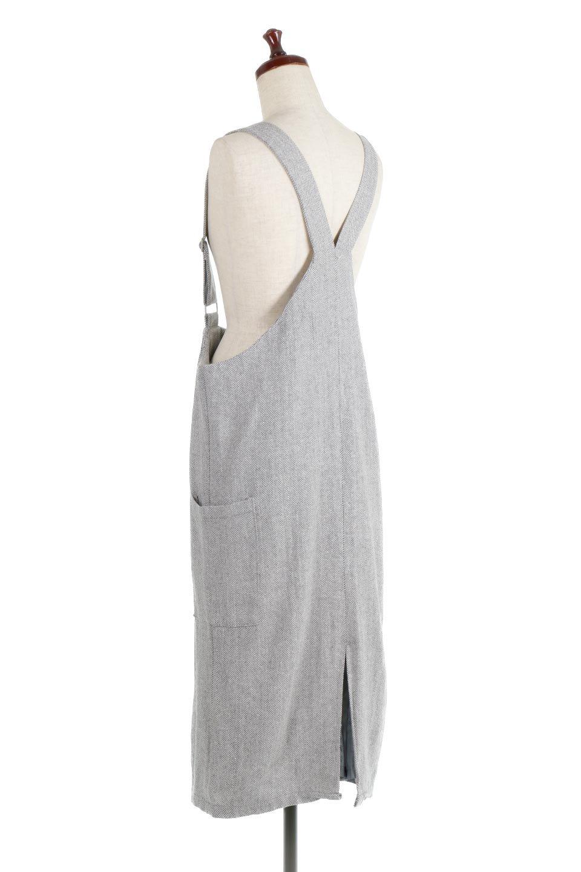 HerringboneJumperDressヘリンボーン・ジャンパースカート大人カジュアルに最適な海外ファッションのothers(その他インポートアイテム)のワンピースやマキシワンピース。季節感の有るヘリンボーン生地を用いたジャンパースカート。トラディショナルな雰囲気で流行り廃りのないアイテムです。/main-8