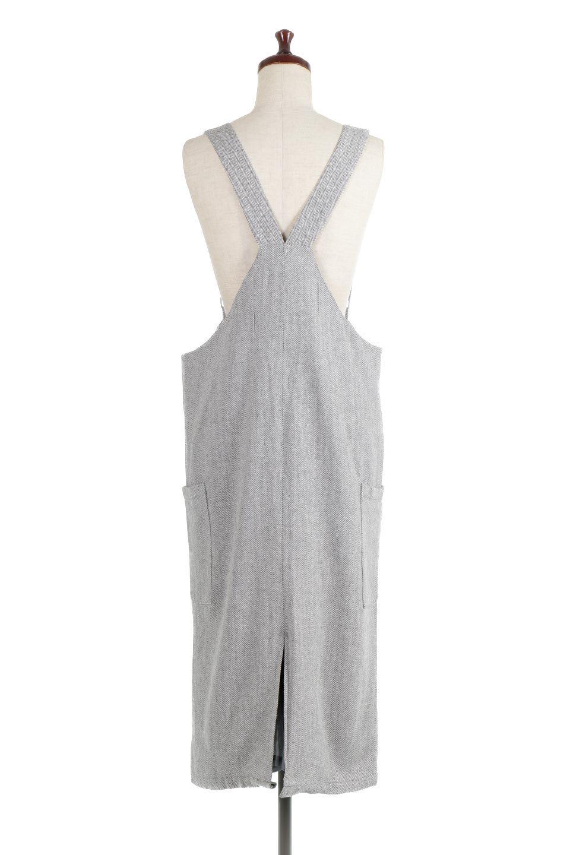 HerringboneJumperDressヘリンボーン・ジャンパースカート大人カジュアルに最適な海外ファッションのothers(その他インポートアイテム)のワンピースやマキシワンピース。季節感の有るヘリンボーン生地を用いたジャンパースカート。トラディショナルな雰囲気で流行り廃りのないアイテムです。/main-9