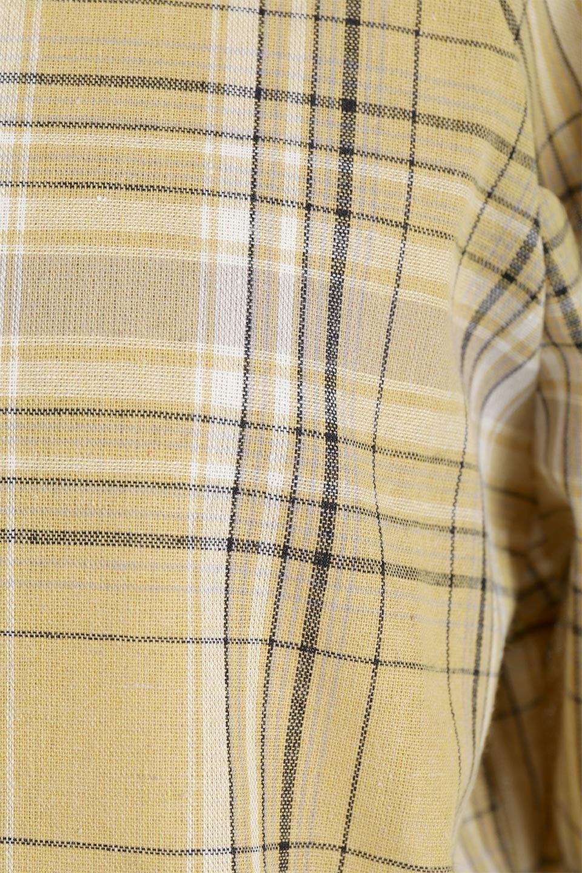 CandySleeveCheckBlouseキャンディースリーブ・チェック柄ブラウス大人カジュアルに最適な海外ファッションのothers(その他インポートアイテム)のトップスやシャツ・ブラウス。キャンディースリーブのボリュームが可愛いブラウス。チェック柄とシンプルな首周りでコーディネートの幅が広がります。/main-27