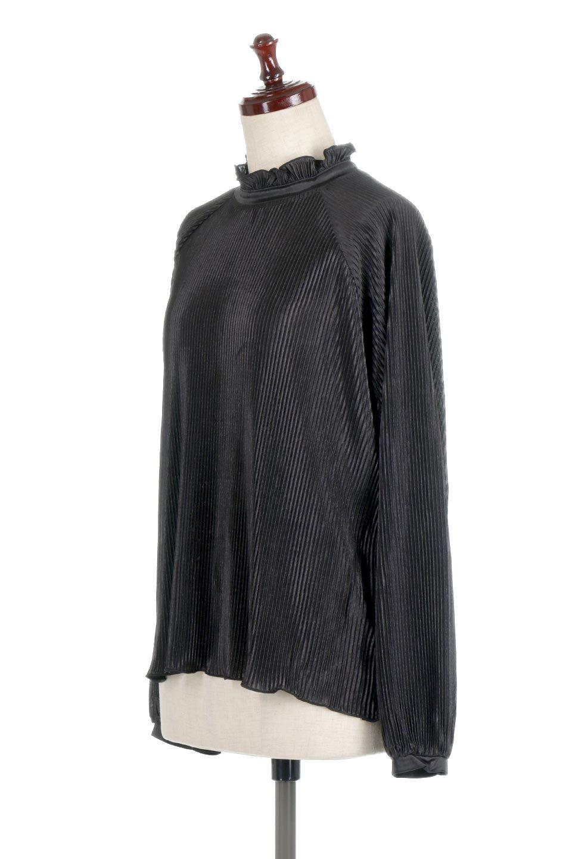 AccordionPleatedBlouseアコーディオンプリーツ・ラグランブラウス大人カジュアルに最適な海外ファッションのothers(その他インポートアイテム)のトップスやシャツ・ブラウス。大人気。アコーディオンプリーツの上品ブラウス。/main-11