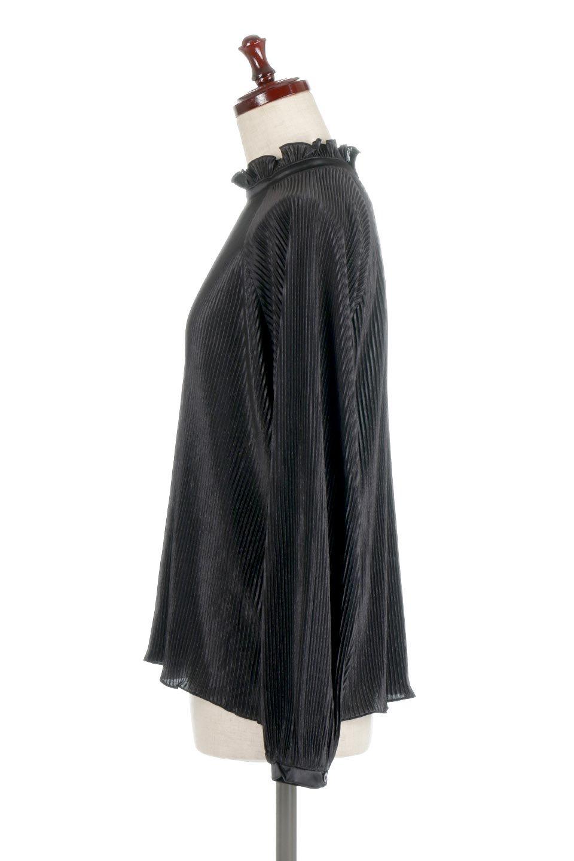 AccordionPleatedBlouseアコーディオンプリーツ・ラグランブラウス大人カジュアルに最適な海外ファッションのothers(その他インポートアイテム)のトップスやシャツ・ブラウス。大人気。アコーディオンプリーツの上品ブラウス。/main-12